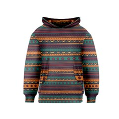 Ethnic Style Tribal Patterns Graphics Vector Kids  Pullover Hoodie