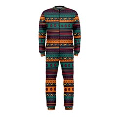 Ethnic Style Tribal Patterns Graphics Vector Onepiece Jumpsuit (kids)