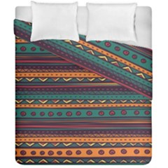 Ethnic Style Tribal Patterns Graphics Vector Duvet Cover Double Side (california King Size)