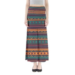 Ethnic Style Tribal Patterns Graphics Vector Maxi Skirts