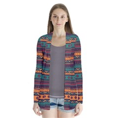 Ethnic Style Tribal Patterns Graphics Vector Cardigans