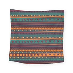 Ethnic Style Tribal Patterns Graphics Vector Square Tapestry (small)