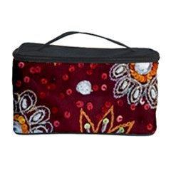 India Traditional Fabric Cosmetic Storage Case