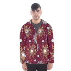 India Traditional Fabric Hooded Wind Breaker (men)