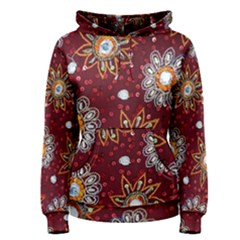 India Traditional Fabric Women s Pullover Hoodie
