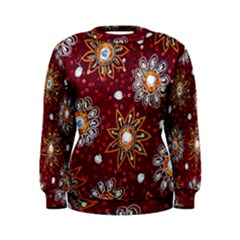 India Traditional Fabric Women s Sweatshirt
