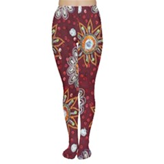 India Traditional Fabric Women s Tights