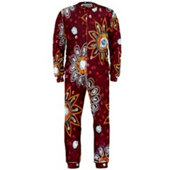 India Traditional Fabric Onepiece Jumpsuit (men)