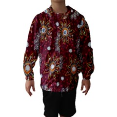 India Traditional Fabric Hooded Wind Breaker (kids)
