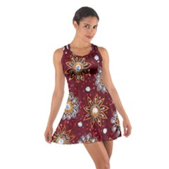 India Traditional Fabric Cotton Racerback Dress