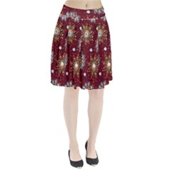 India Traditional Fabric Pleated Skirt