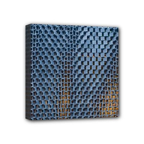Parametric Wall Pattern Mini Canvas 4  X 4