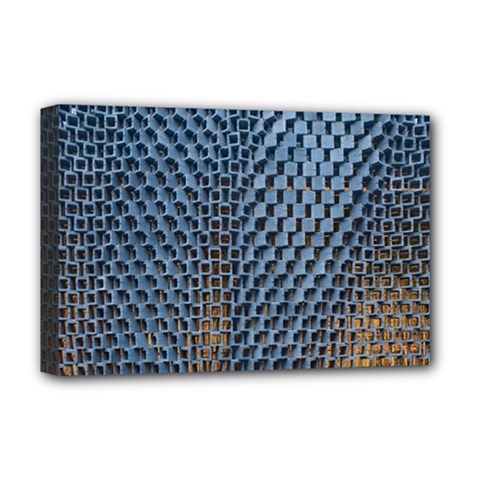 Parametric Wall Pattern Deluxe Canvas 18  x 12