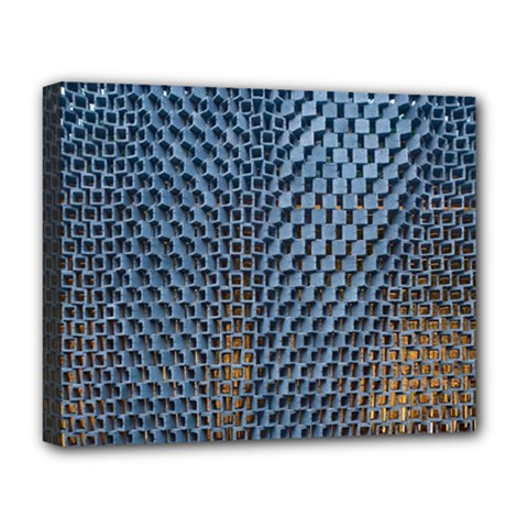 Parametric Wall Pattern Deluxe Canvas 20  X 16