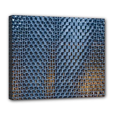 Parametric Wall Pattern Deluxe Canvas 24  X 20