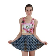 Parametric Wall Pattern Mini Skirt