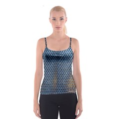 Parametric Wall Pattern Spaghetti Strap Top
