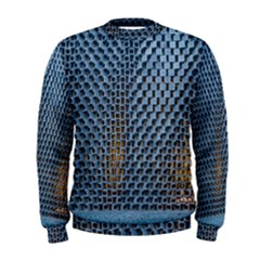 Parametric Wall Pattern Men s Sweatshirt