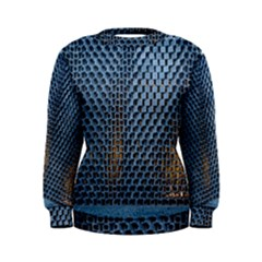 Parametric Wall Pattern Women s Sweatshirt