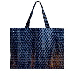 Parametric Wall Pattern Zipper Mini Tote Bag