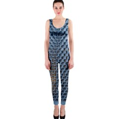 Parametric Wall Pattern Onepiece Catsuit