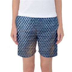 Parametric Wall Pattern Women s Basketball Shorts