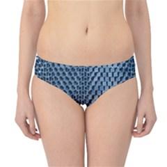 Parametric Wall Pattern Hipster Bikini Bottoms