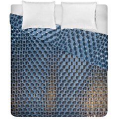 Parametric Wall Pattern Duvet Cover Double Side (california King Size)