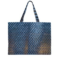 Parametric Wall Pattern Large Tote Bag