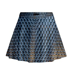 Parametric Wall Pattern Mini Flare Skirt