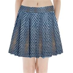 Parametric Wall Pattern Pleated Mini Skirt