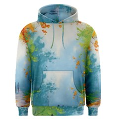 Park Nature Painting Men s Pullover Hoodie