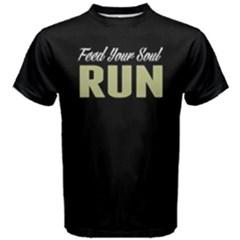 Feed your soul Run -  Men s Cotton Tee