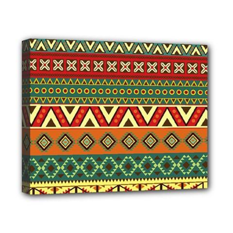 Mexican Folk Art Patterns Canvas 10  X 8