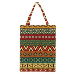 Mexican Folk Art Patterns Classic Tote Bag