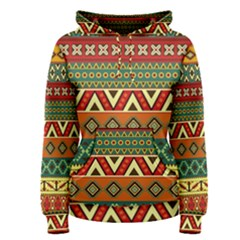Mexican Folk Art Patterns Women s Pullover Hoodie