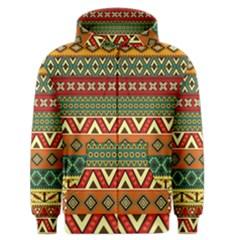 Mexican Folk Art Patterns Men s Zipper Hoodie
