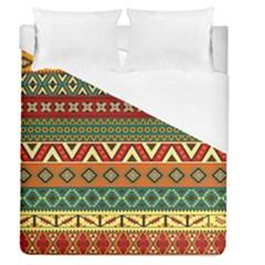 Mexican Folk Art Patterns Duvet Cover (queen Size)