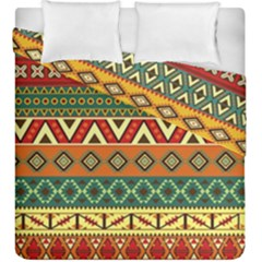 Mexican Folk Art Patterns Duvet Cover Double Side (king Size)