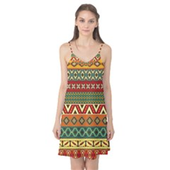 Mexican Folk Art Patterns Camis Nightgown