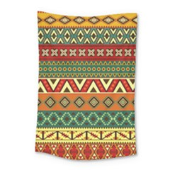 Mexican Folk Art Patterns Small Tapestry