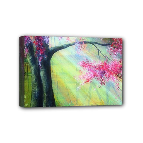 Forests Stunning Glimmer Paintings Sunlight Blooms Plants Love Seasons Traditional Art Flowers Sunsh Mini Canvas 6  X 4