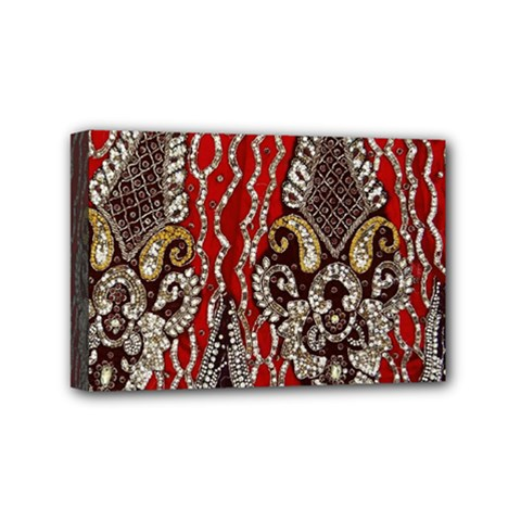 Indian Traditional Art Pattern Mini Canvas 6  x 4