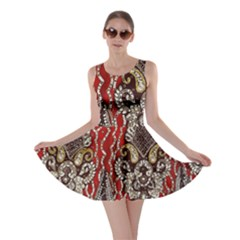 Indian Traditional Art Pattern Skater Dress