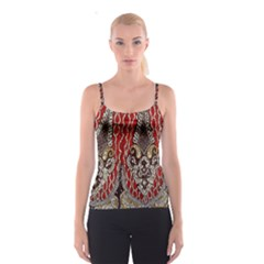 Indian Traditional Art Pattern Spaghetti Strap Top