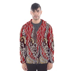 Indian Traditional Art Pattern Hooded Wind Breaker (men)