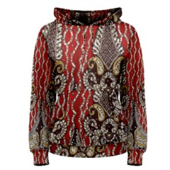 Indian Traditional Art Pattern Women s Pullover Hoodie