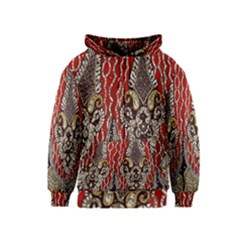 Indian Traditional Art Pattern Kids  Zipper Hoodie