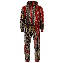 Indian Traditional Art Pattern Hooded Jumpsuit (men)