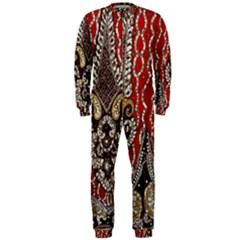Indian Traditional Art Pattern Onepiece Jumpsuit (men)